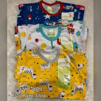 Piyama anak bayi 1 - 2 tahun size LB Velvet Junior grosir 3 set baju
