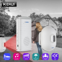 KERUI Bel Alarm Rumah DW9 Alarm system Garasi Mobil Sensor Gerak