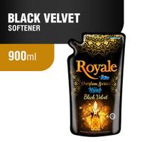 Royale Hijab Pelembut Pakaian Black Velvet 900 ml