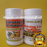 Obat Asam Urat Herbal Samurago & Habatop Tanpa Efek Samping