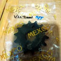 GEAR GIR DEPAN VIXION BYSON 14T ( MEXCO )