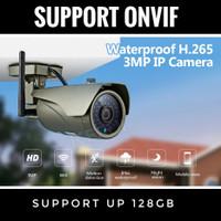 KERUI IP Camera CCTV 3MP Onvif HD Kamera Pengintai