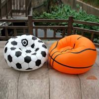 Sofa Angin Bangku Kursi Santai Lipat bentuk Bola Basket Intime Bestway