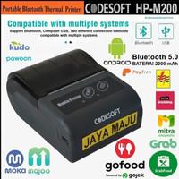 PRINTER KASIR/PPOB THERMAL - CODESOFT HP-M200 ANDROID (USB+BLUETOOTH)