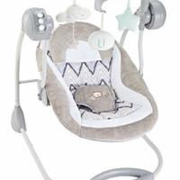 Deluxe Portable Swing Right Start / Kursi Ayun Otomatis Baby