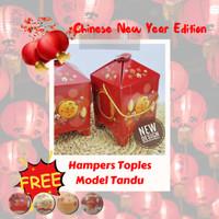 Box Imlek / Hampers Toples / Dus Kue Kering / Model Tandu
