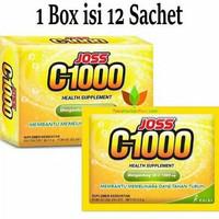 JOZZ C-1000 VIT C 1000 MG 1 BOX 12 SACHET -MEMELIHARA DAYA TAHAN TUBUH