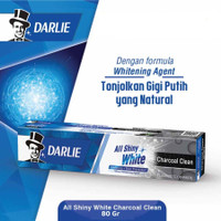 DARLIE ALL SHINY WHITE CHARCOAL CLEAN 80 GR / PASTA GIGI DARLIE
