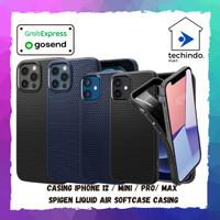 Case iPhone 12 / Pro / Max / Mini Spigen Liquid Air Softcase Casing