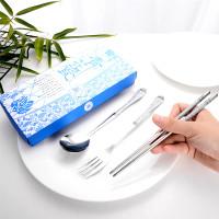 Set Alat Makan Sendok Garpu Sumpit - Spoon Fork Set Stainless