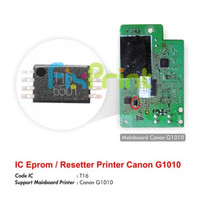 IC Eprom Canon Mainboard G1010 T16 Resetter Counter Printer G1010 T16