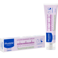 MUSTELA Bebe Vitamin Barrier Cream 100ml Newborn Baby Soothes Recovers