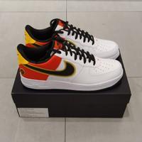 Nike Air Force 1 Low White Orange Flash Black Unisex Original Bnib