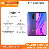 Xiaomi Official Redmi 9 4/64 GB Garansi Resmi Mi Smartphone