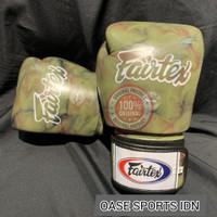 Fairtex Boxing Glove 12oz STD Camo White Made in Thailand - 10