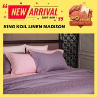 SPREI KING KOIL - BEDLINEN KING KOIL - LUXURY - KING KOIL