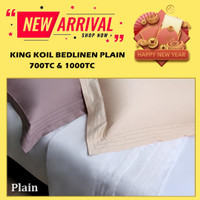 SPREI KING KOIL - BEDLINEN KING KOIL - Plain - KING KOIL