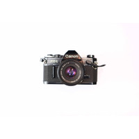 Kamera Analog SLR Canon AE-1 Black Mint Condition !!!