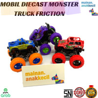 MAINAN MOBIL DIECAST MONSTER TRUCK FRICTION - OFF ROAD