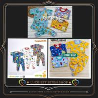 Velvet junior Setelan Oblong Baju Pendek Celana Panjang Anak Bayi