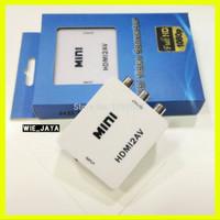 hdmi to av rca converter adapter mini konverter hdmi to rca box