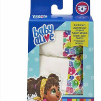 BABY ALIVE Diapers Doll Nappy Refill 4 pcs Hasbro