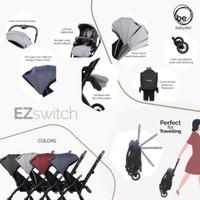 Stroller Kereta Dorong Bayi Baby Elle / BabyElle Ez Switch S523 RS - Antrachite