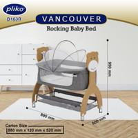 Tempat Tidur Bayi / Rocking Baby Bed Vancouver Pliko B163R / B 163 R