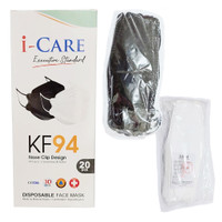 Masker KF94 I-Care 3D Evo Stereoscopic Fish Isi 20Pc Medical Grade