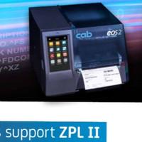 CAB EOS 2/300 THERMAL TRANSFER RIBBON BARCODE LABEL PRINTER-300 DPI