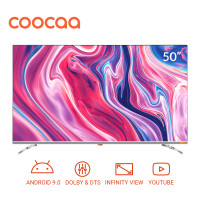 COOCAA 50 inch 4K Android 9.0 Smart LED TV- Dolby Vision (Model 50S6G)