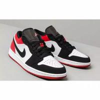 Sepatu Nike Air Jordan 1 Low Black Toe