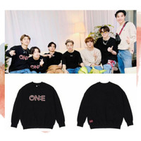 SWEATER BASIC BTS MAP OF THE SOUL ONE - TSHIRT KPOP BTS - FREE PC