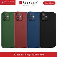 ASENARU iPhone 12 /12 Mini Casing - Super Slim Signature Case