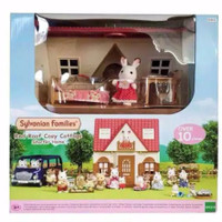 Sylvanian Families Red Roof Cosy Cottage House Original SALE
