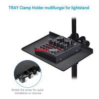 Clamp Holder multifungsi for lightstand