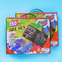 Art Set 150 pcs Pensil Warna Set Anak Crayon Komplit Alat Lukis Set
