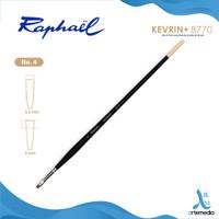 Kuas Lukis Raphael 8770 Extra Short Flat Kevrin Synthetic Brush LH