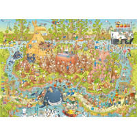 HEYE - FUNKY ZOO SERIES 1000 PCS