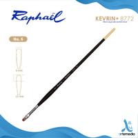 Kuas Lukis Raphael 8772 Filbert Kevrin Synthetic Brush Long Handle