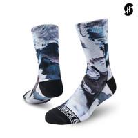 Stayhoops - Kaos Kaki Fashion - AVALANCE Fullprint Sock