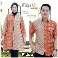 fillea Widya orange couple batik solo alusan murah