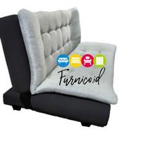 Sofa Bed Minimalis Sofabed kain / oscar full busa EKONOMIS