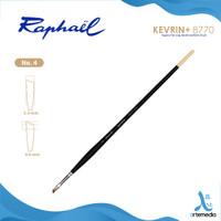 Kuas Lukis Raphael 8771 Angular Kevrin Synthetic Brush Long Handle