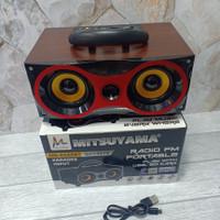 Speaker Bluetooth Klasik F6 - Portable Speaker Classic F6