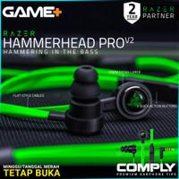 Razer Hammerhead Pro V2 Earphone Gaming Headset Gaming