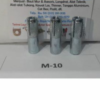DINASET M10 DYNASET DROP IN ANCHOR M10 - PER DUS ISI 50 PCS