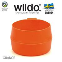 Wildo Fold a Cup BIG - Orange , Olive , Dark Grey