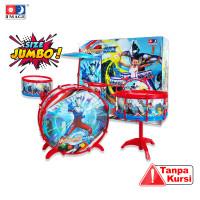 """IMAGE TOYS mainan Drum Set """"XL"""" [ 8 pcs ]"""