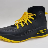 SEPATU BASKET UNDER ARMOUR CURRY 4 YELLOW BLACK IMPOR VIETNAM